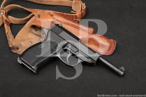 WWII Nazi German Mauser P.38 P38 P-38 byf-44 9mm Semi-Auto Pistol, 1944 C&R