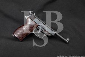 WWII Nazi German Walther P.38 P38 P-38 ac-44 9mm Semi-Auto Pistol, 1944 C&R