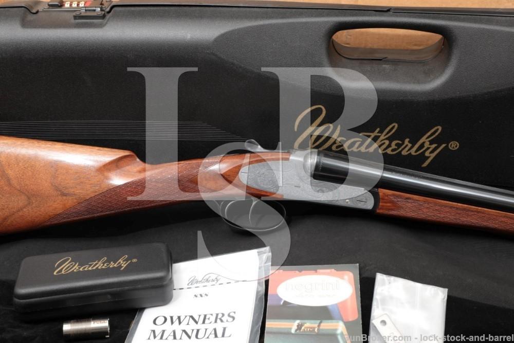 Weatherby Fausti Athena D'Italia 20 GA SXS Side by Side Shotgun, MFD 2006