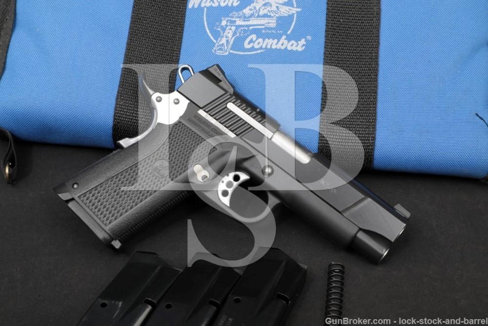 Wilson Combat Model KZ-45 KZ45 1911 .45 ACP 4″ Semi-Auto Pistol 2000-2008