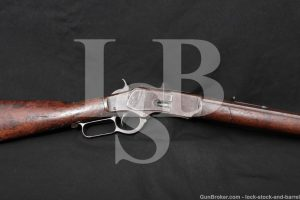 Winchester 1873 '73 3rd Model 44-40 WCF Lever Action Rifle MFD 1888 Antique