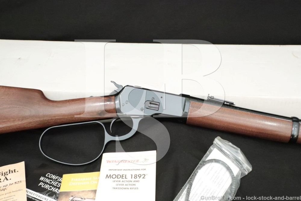 """Winchester 1892 Large Loop Carbine 20"""" .44 Magnum Lever Action Rifle, 2016"""