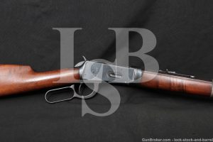 Winchester 1894 94 Takedown Pre-64 .25-35 WCF Lever Rifle, MFD 1898 Antique