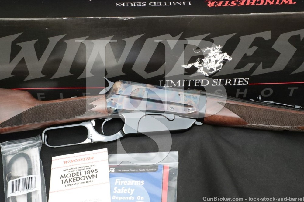 Winchester 1895 Limited Takedown Grade I 1 .405 24″ Lever Action Rifle 2006