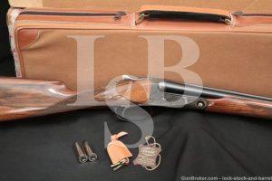 Winchester Parker Repro DHE Grade 28 GA SXS Side by Side Shotgun, 1984-89