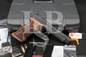 Sig Sauer Model P210 Target 210A-9-TGT 9mm Semi-Automatic Pistol 2020