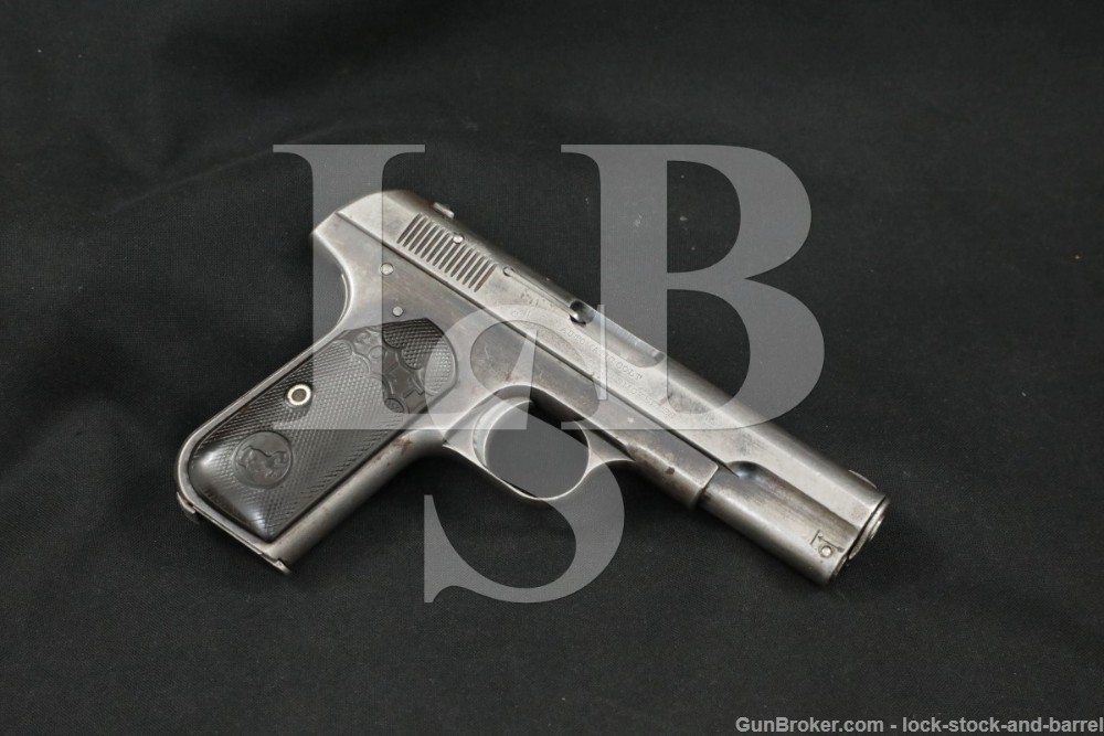 1st Year Colt Model 1903 Type I .32 ACP Pocket Hammerless Pistol, 1903 C&R