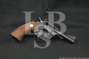 "1st Year Colt Three Fifty Seven Model 4"" .357 Magnum Revolver, MFD 1954 C&R"