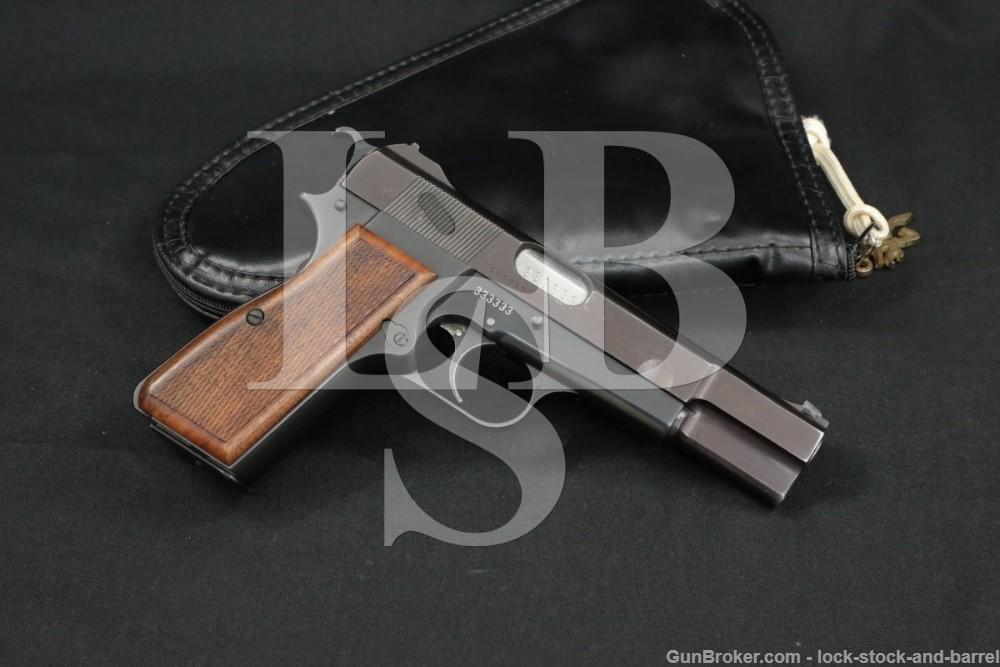 333333 C.S. Frost Fabrique Nationale Hi-Power 9mm Semi-Auto Pistol C&R