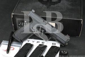 """Archon Firearms Model Type B 9mm 4.25"""" Striker Fired Semi-Auto Pistol 2019"""