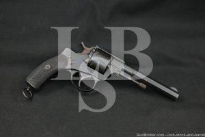 Argentina Simson Suhl Model 1893 .440 Argentine SA/DA Revolver 1893 Antique