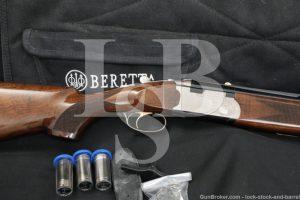 """Beretta 686 Onyx 12 GA 28"""" 3"""" Double Barrel Over-Under Shotgun, MFD 2007"""