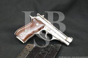 Beretta 85BB 85-BB .380 ACP 9mm Short Double Action Semi-Auto Pistol, 1983