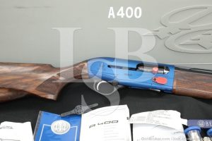 "Beretta A400 A-400 Xcel 30"" Royal Blue 20 GA Semi-Auto Shotgun, MFD 2017"