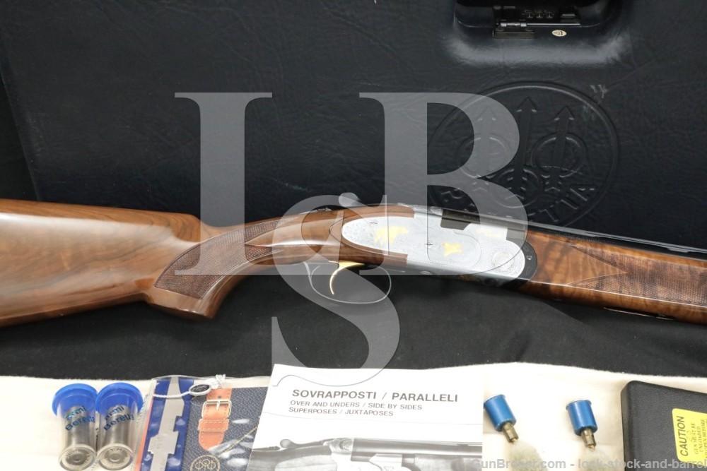 """Beretta Model 687 EL Gold Pigeon 28 GA 26"""" Over Under O/U Shotgun 1996"""