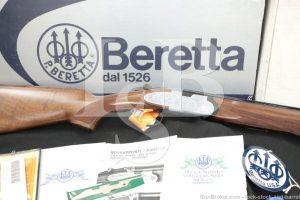 "Beretta Model 687DU 687 Ducks Unlimited 28 GA 26"" Over Under Shotgun 1991"