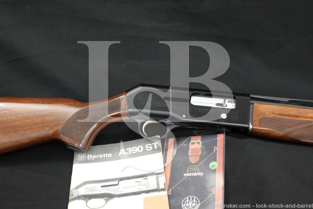 "Beretta Model A390 Silver Mallard 12 Ga 28"" Semi-Automatic Shotgun MFD 1995"