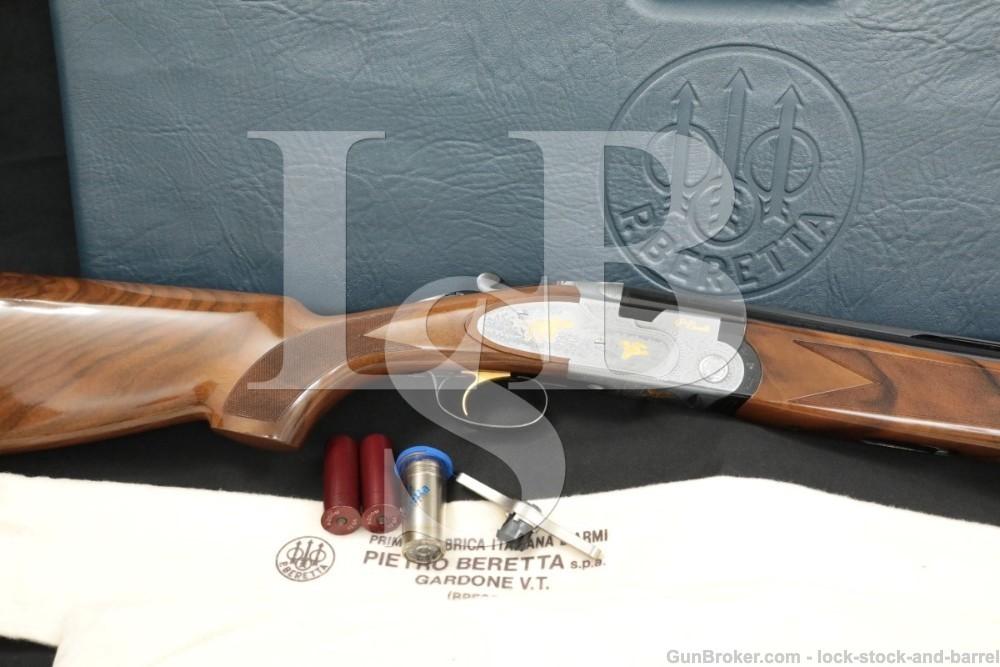 Beretta S687 EL Gold Pigeon J687210 12 GA 28″ O/U Over Under Shotgun 1999