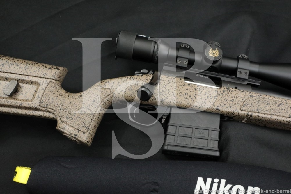 Bergara Spain B-14 B14 HMR 6.5 Creedmoor Nikon Scope Bolt Action Rifle 2017