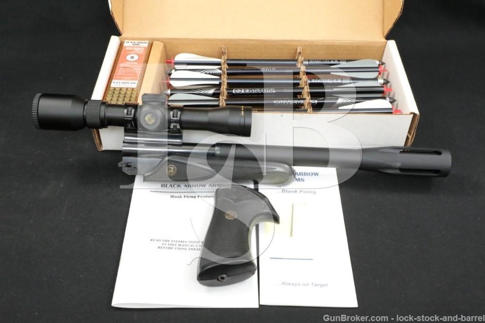 Black Arrow Arms Thompson TC Contender Conversion Kit Arrows Blanks & Scope