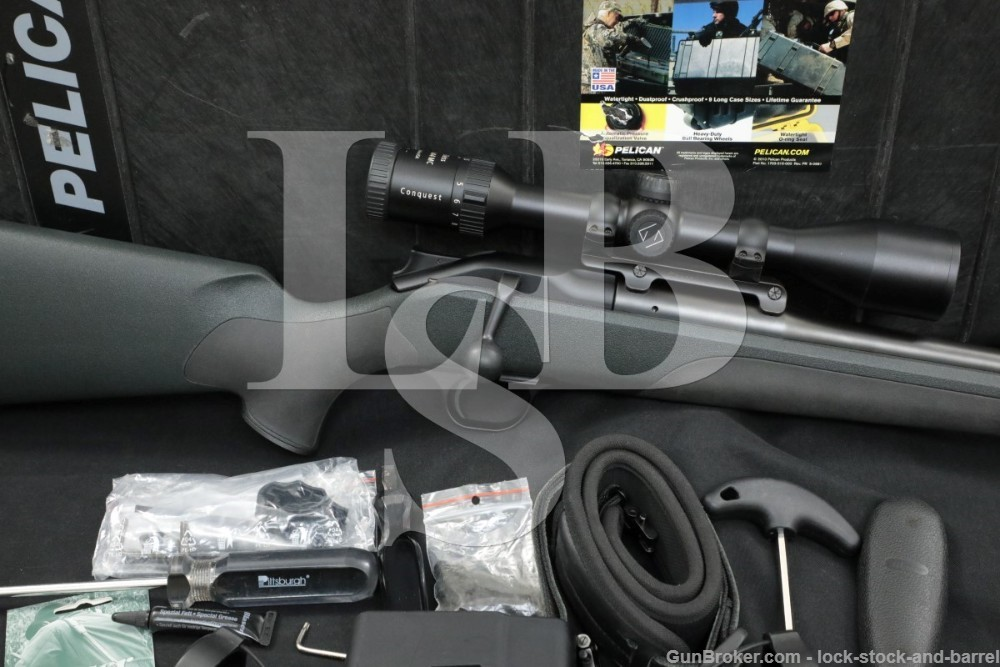 Blaser Model R8 Professional Package Blue 25″ 300 Win Mag Bolt Action Rifle