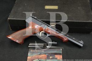 Browning FN Medalist Target .22 LR Blue Semi-Automatic Pistol, MFD 1963 C&R