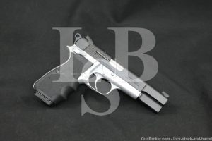 "Browning Hi Power Practical Model 9x19mm 4 5/8"" Semi-Automatic Pistol, 1991"