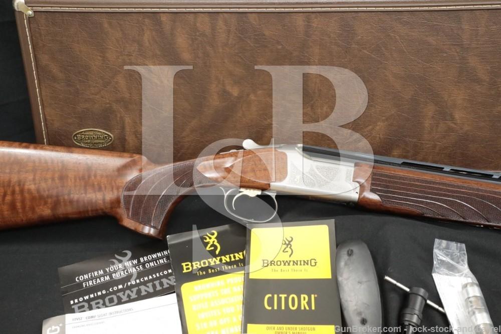 """Browning Miroku Citori 625 Sporting 20 Ga 30"""" Over-Under Shotgun, MFD 2009"""