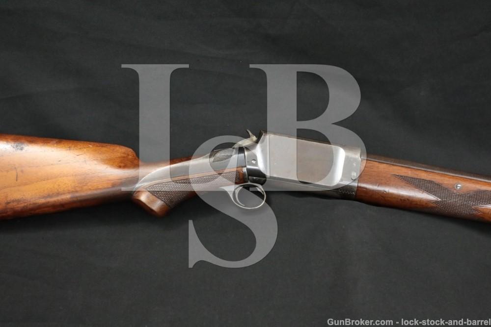 Burgess Slide Action Repeating 28″ MOD 12 GA Pump Shotgun 1893-1898 Antique