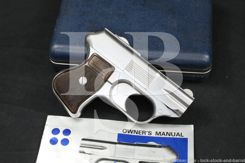 COP SS1 SS-1 Compact Off-Duty Police 4-Shot .357 Magnum Derringer