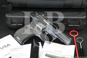 "CZ Model 83 .380 ACP 9mm Browning 3.8"" Blue Semi-Automatic Pistol, MFD 2015"