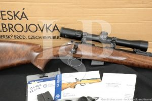 "CZ-USA Model 452-2E ZKM FS Mannlicher .22 Mag 21"" Bolt Action Rifle 2007"