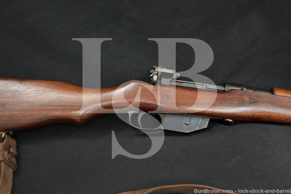 Canadian Ross Mk III Rifle M-10 M10 Straight Pull Bolt Action Rifle C&R