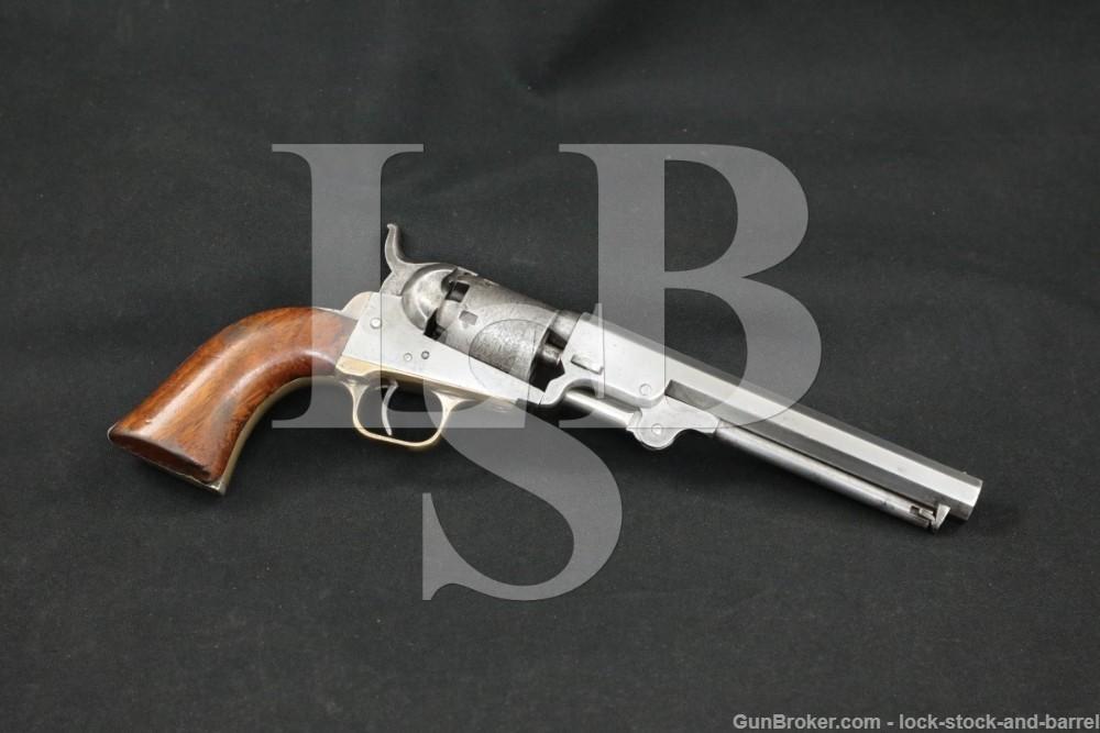 """Colt 1849 Pocket 6"""" .31 Cal Percussion Cap & Ball Revolver, 1852 Antique"""