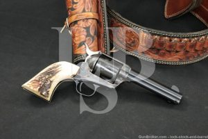 Colt 3rd Gen Single Action Army .45 Revolver & Alfonso's Fast-Draw Rig 1978