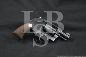 """Colt Agent 1st Issue Light Weight 2"""" 6-Shot .38 Special Revolver, 1967 C&R"""