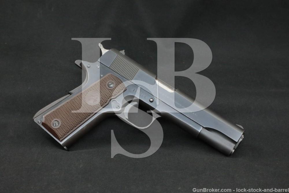 Colt Commercial Government Model 1911 .45 ACP Semi-Auto Pistol, 1962 C&R