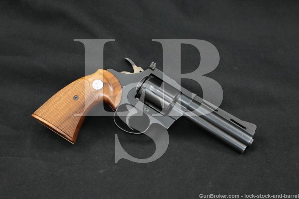 "Colt Diamondback Model D5540 Blue 4"" .38 Special Revolver, MFD 1967 C&R"