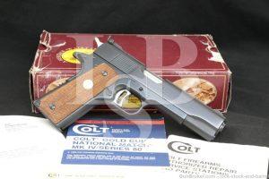 "Colt Gold Cup National Match Series '80 .45 ACP 5"" 1911 Pistol C&R"