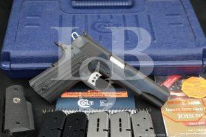 Colt Gold Cup Trophy 05870CS 1911 .45 ACP Semi-Automatic Pistol, MFD 2008