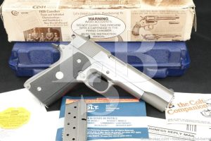 Colt Government Enhanced 1911 O2070E .38 Super Semi-Auto Pistol, MFD 1994