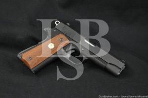 Colt Lightweight Commander Model .45 ACP Semi-Automatic Pistol, 1965 C&R