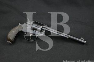 Colt Model 1878 Double Action Frontier .44-40 WCF Revolver, 1887 Antique