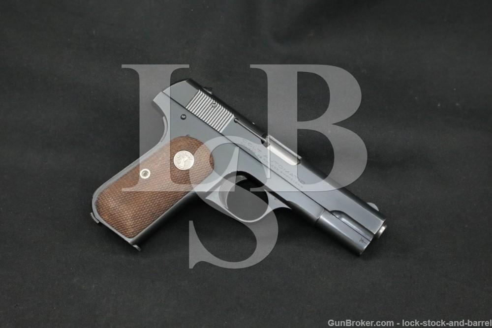 Colt Model 1903 Pocket Hammerless .32 ACP Semi-Auto Pistol, MFD 1928 C&R