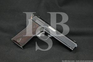 Colt Model 1905 The First .45 ACP Pre-1911 Semi-Auto Pistol, MFD 1907 C&R