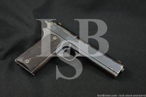 Colt Model 1905 The First .45 ACP Pre-1911 Semi-Auto Pistol, MFD 1910 C&R