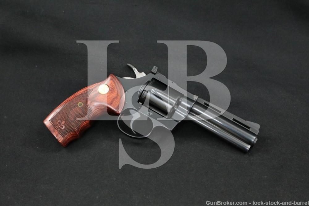 "Colt Model Diamondback .38 SPL 4"" Double/Single Action Revolver MFD 1977"