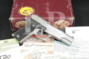 """Colt Model Double Eagle Series 90 01070E .45 ACP 5"""" Semi-Auto Pistol 1989"""