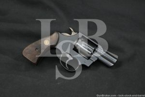 "Colt Model Lawman Mark MK III MKIII Blue 2"" .357 Magnum Revolver, MFD 1978"