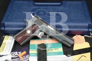 Colt Series 70 Gold Cup National Match O5870A1 45 ACP 1911 Semi-Auto, C&R